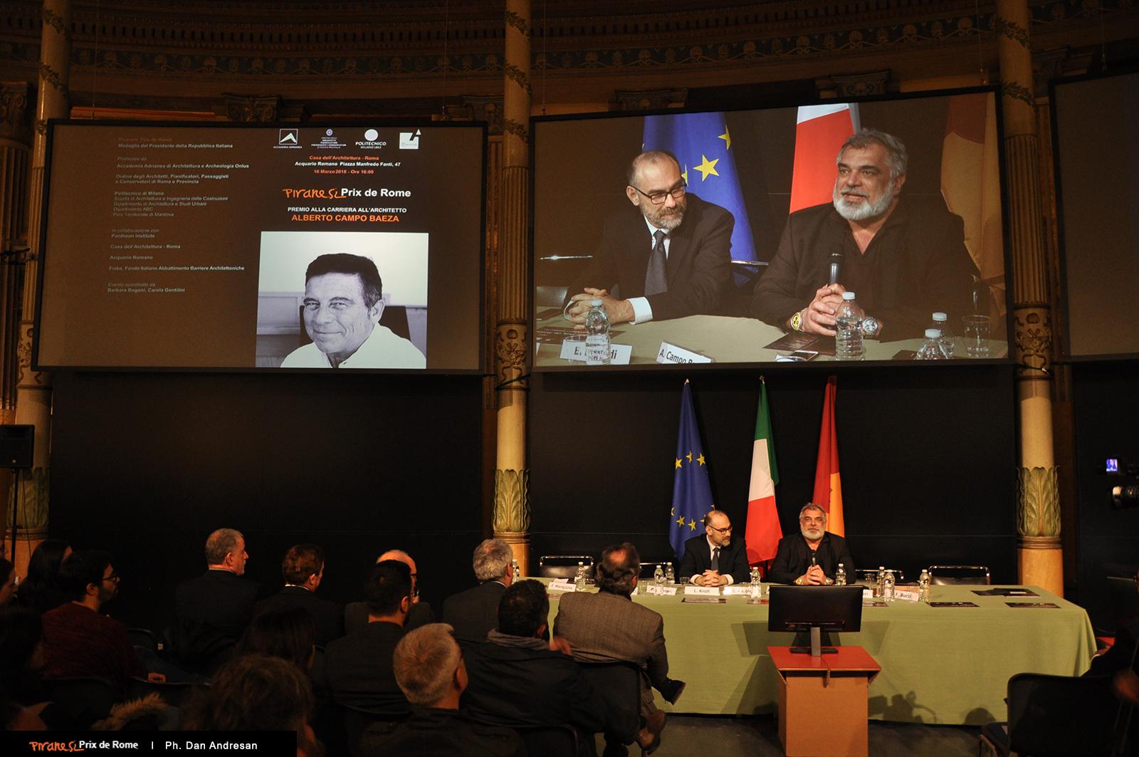 Intervento di Pier Federico Caliari, Presidente Accademia Adrianea