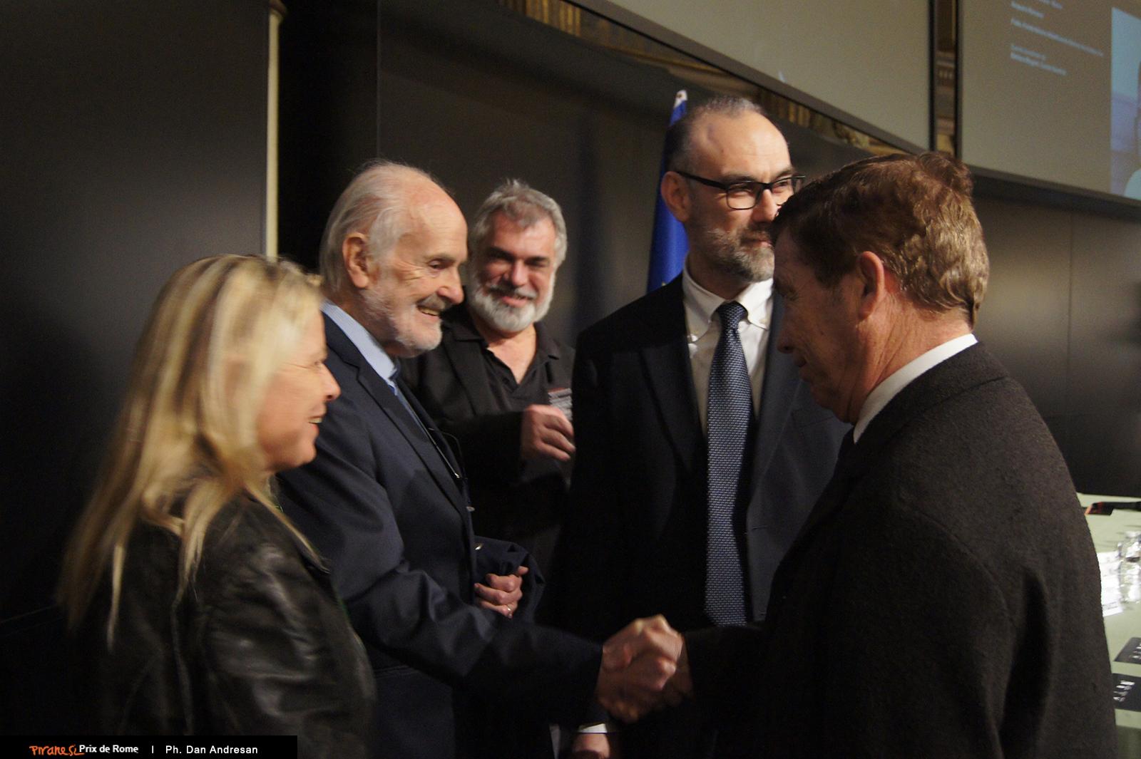 L'incontro tra Lucien Kroll e Alberto Campo Baeza con  ed con Pier Federico Caliari, Flavio Mangione