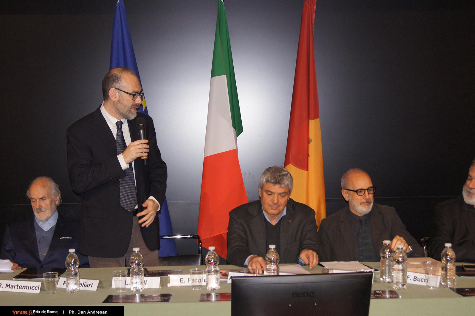 Intervento di Flavio Mangione, Presidente dell'Ordine degli Architetti di Roma