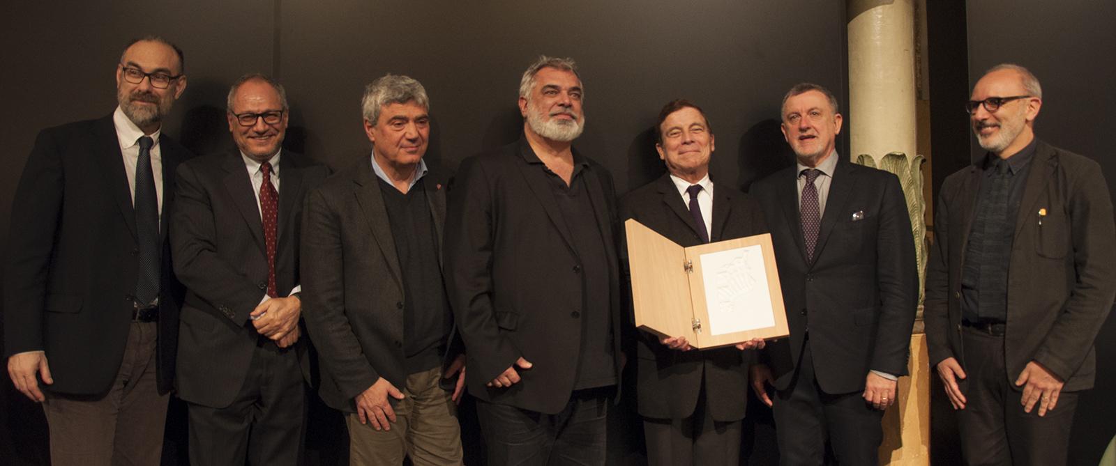Consegna del Piranesi Prix de Rome ad Alberto campo Baeza