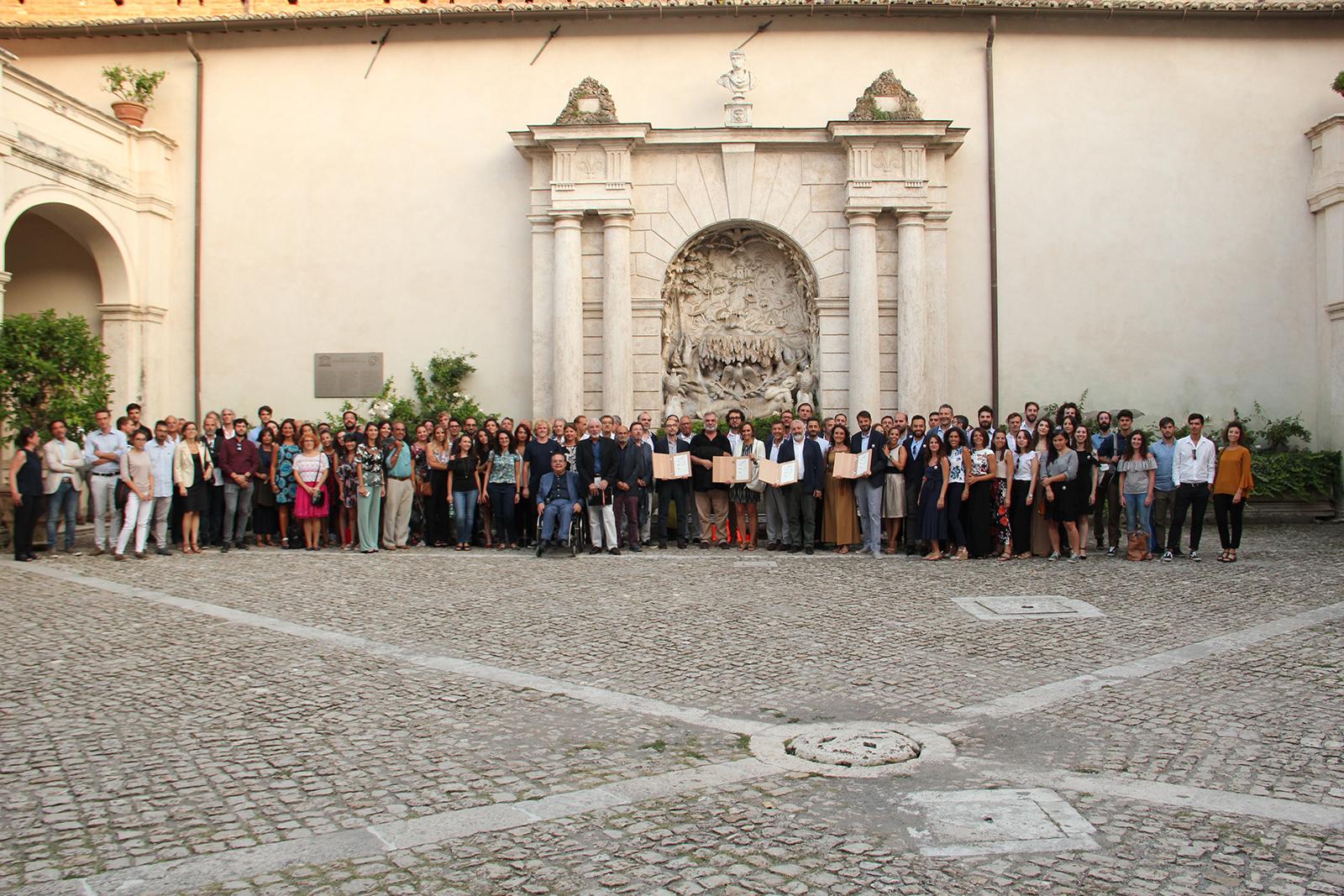 I partecipanti della Call Internazionale per la Grande Villa Adriana